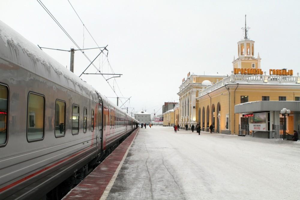 """поезд """"Ярославль – Москва"""""""