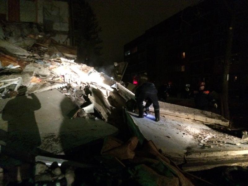 Обрушение дома вЯрославле в итоге взрыва газа: СКР возбудил уголовное дело