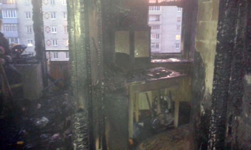 Пожар вРыбинске: двое погибли, один— госпитализирован