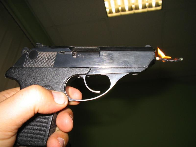 Вооруженный ярославец напал наларек вБрагино