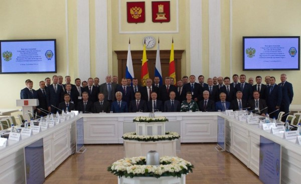 Алексей Дюмин принял участие ввыездном совещании Совета БезопасностиРФ
