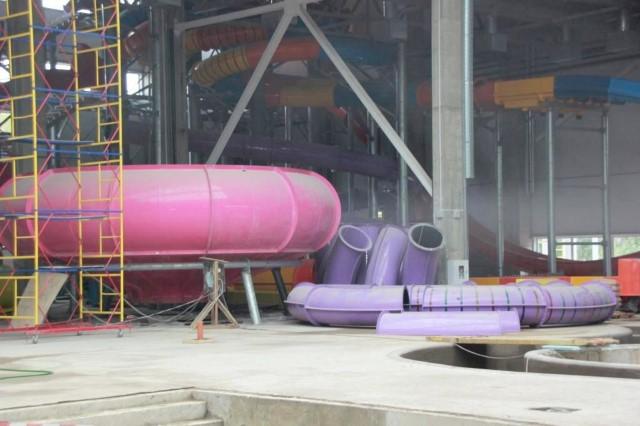 Открытие первого вЯрославле аквапарка откладывается как минимум дозимы