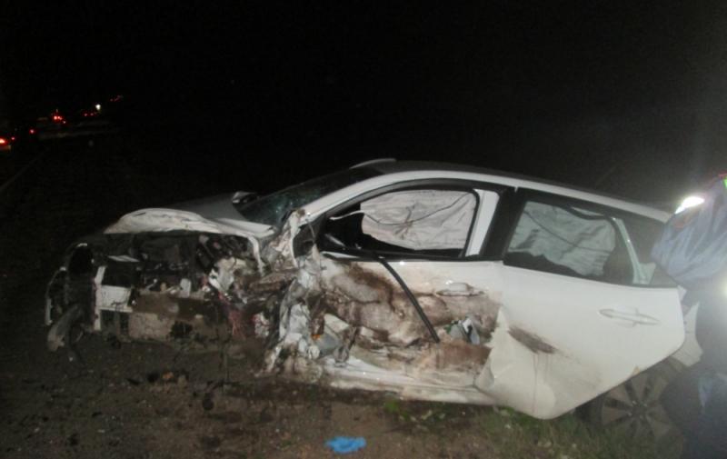 ВПереславском районе шофёр легковушки умер вДТП