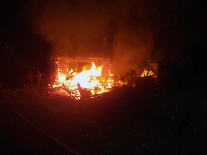 ВНекрасовском районе Ярославской области вспыхнул дачный дом