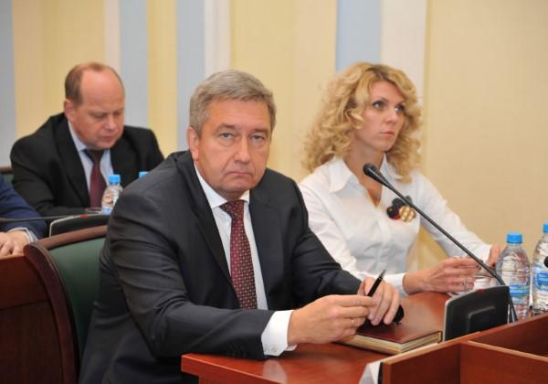 Обновленную структуру регионального руководства  представил Дмитрий Миронов