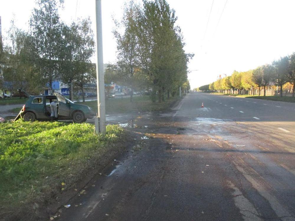 ВЯрославле в итоге столкновения 2-х иномарок пострадали двое детей