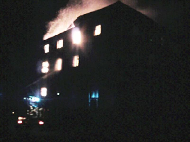 Впожаре впоселке Некрасовское умер мужчина