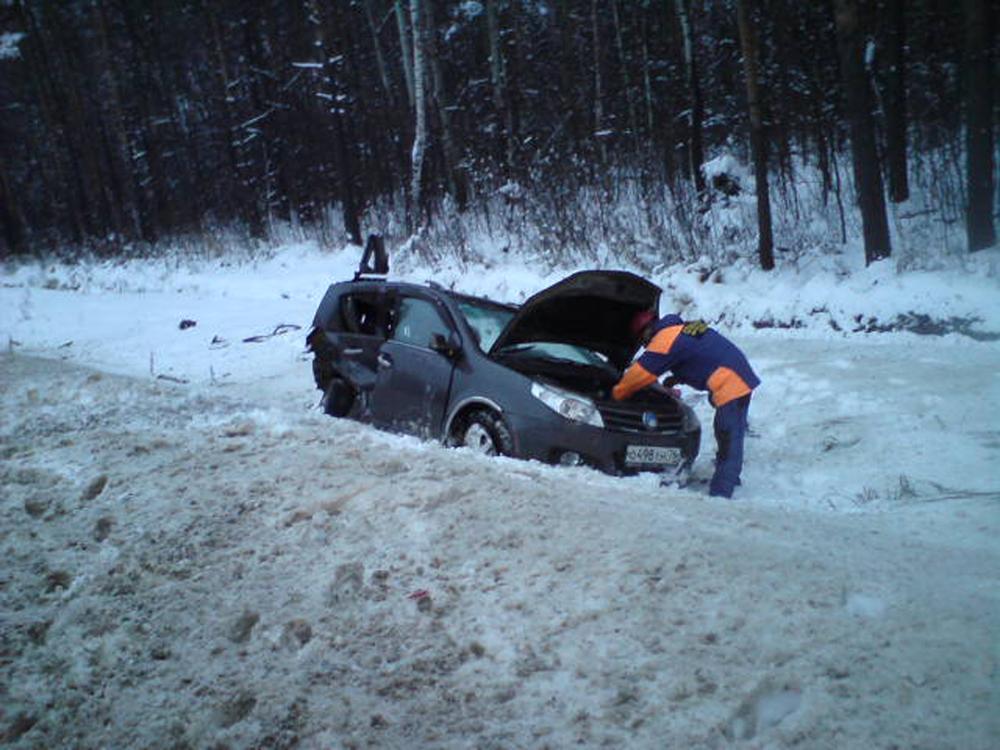 Крупное ДТП под Ярославлем: столкнулись 4 машины