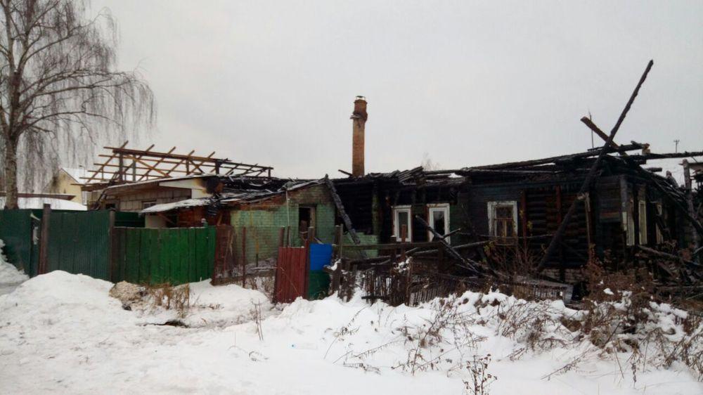 Впроцессе пожара вЯрославле погибли супруг ижена