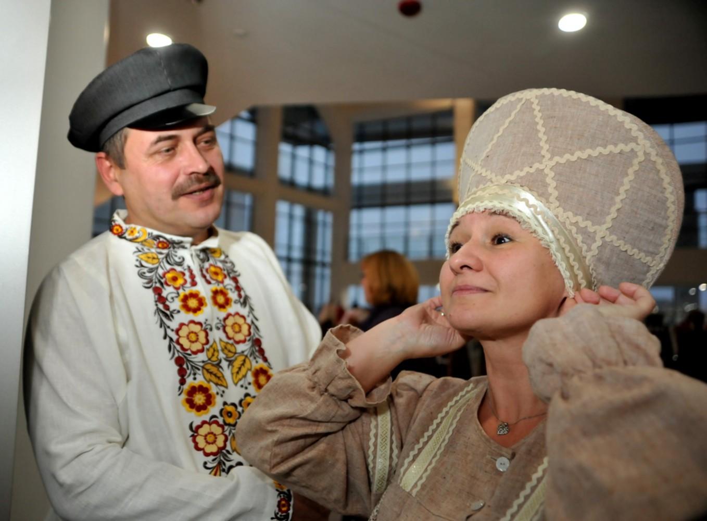 ВЯрославле прошел VIII всероссийский фестиваль «Русский костюм нарубеже эпох»