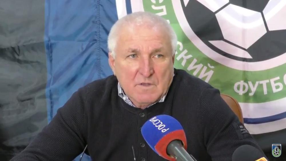 Тренер ярославского «Шинника» поведал опланах набудущее