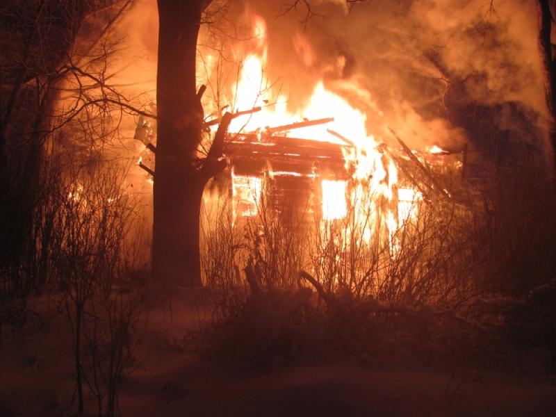 ВНекоузском районе впламени умер 81-летний мужчина