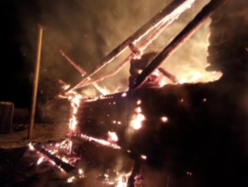 ВРыбинском районе впожаре пострадали два человека