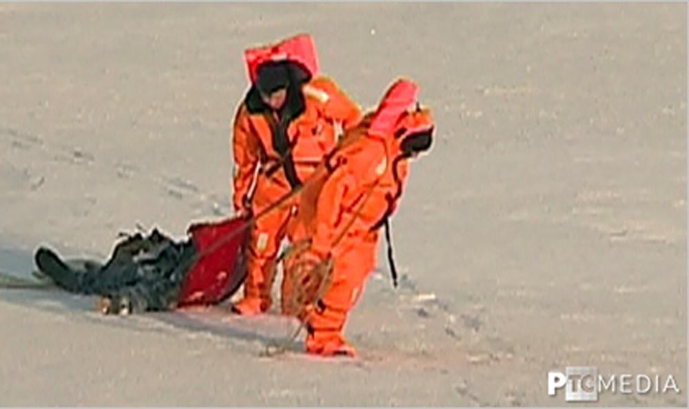 ВРыбинске умер рыбак, провалившийся под лед Волги