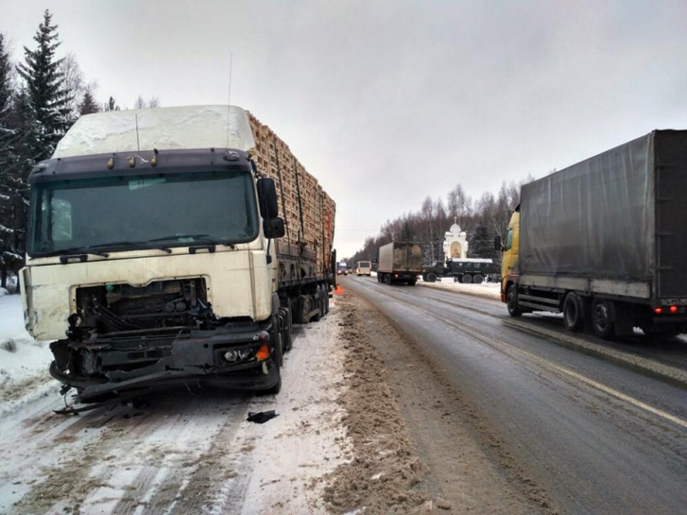 Жуткое ДТП натрассе Ярославль— Кострома: погибли два человека