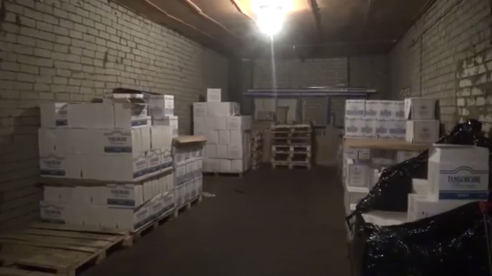 Наоптовой базе вЯрославле изъяли 252 литра лосьона «Боярышник»