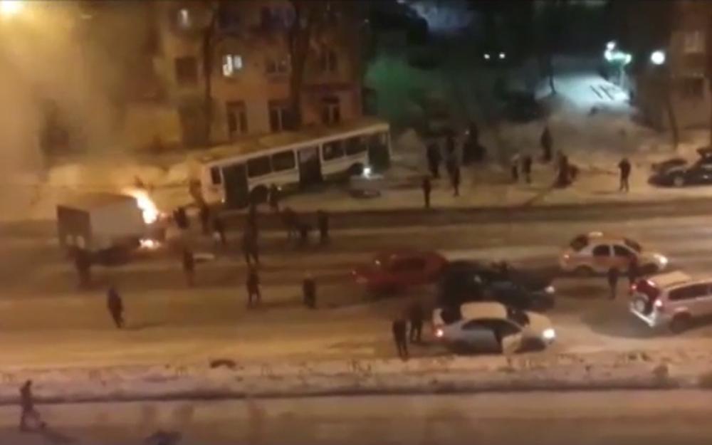 Кировском районе города Ярославля в итоге  крупного ДТП пострадали 5  человек