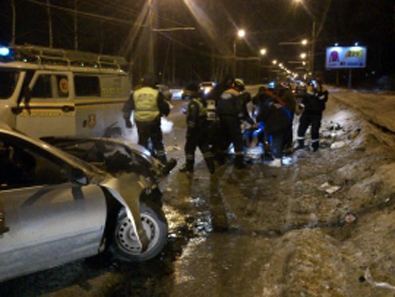 ВЯрославле из-за ДТП пострадали 4 человека