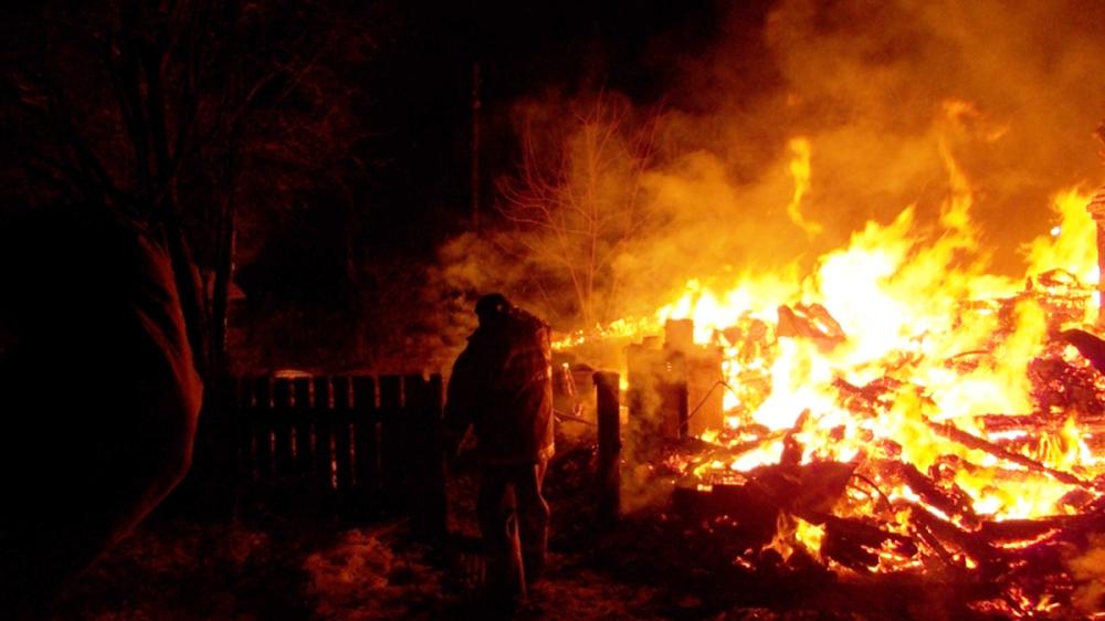 ВЯрославском районе областного центра врезультате сильного возгорания  умер  мужчина