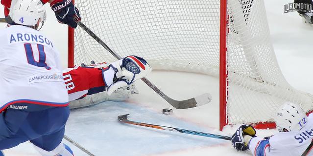 Ярославский «Локомотив» обыграл насвоем льду «Ладу» изТольятти