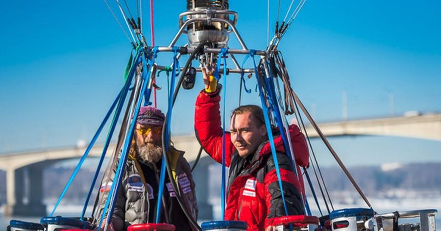Мороз может посодействовать Федору Конюхову установить рекорд навоздушном шаре