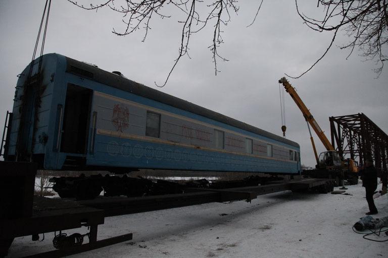 ВЯрославле появился храм-вагон