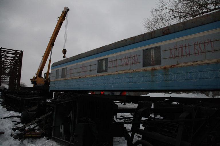 ВЯрославле наместе возведения новейшей церкви поставили храм-вагон