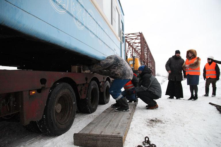 ВЯрославле появился вагон для проведения богослужений