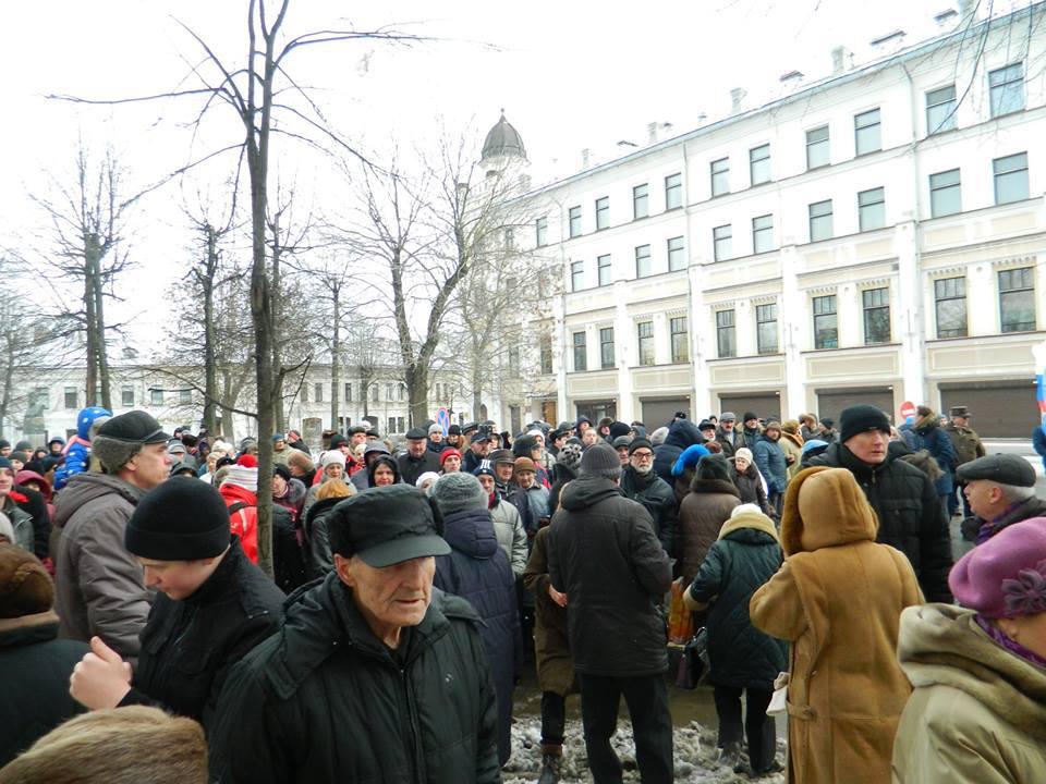 ВЯрославле прошёл марш памяти Бориса Немцова