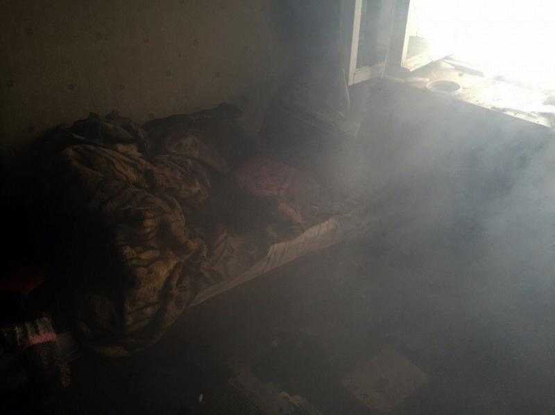 Из-за пожара вярославской многоэтажке эвакуировали 30 человек, один умер