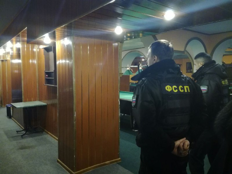 ВЯрославле арестовали имущество бильярдного клуба