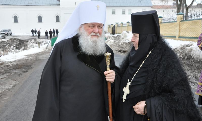 Настоятельница Свято-Введенского Толгского женского монастыря отмечает юбилей