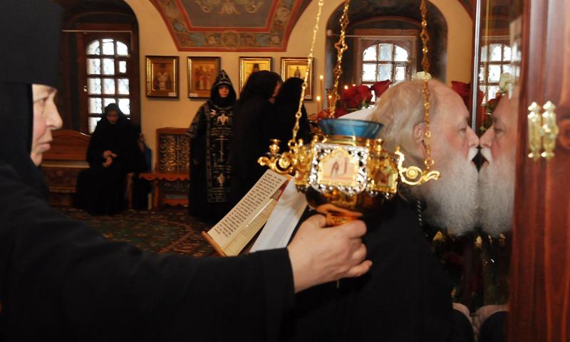 Наюбилей настоятельницы Толги приехали полпред ипомощник Президента Российской Федерации