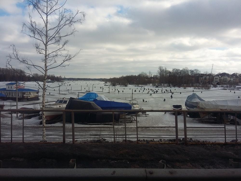 Сезон зимней рыбалки вЯрославле закрыт