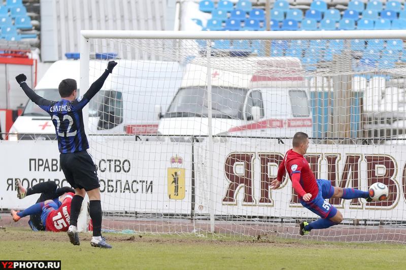 Ярославский «Шинник» одержал победу у«СКА-Хабаровск»