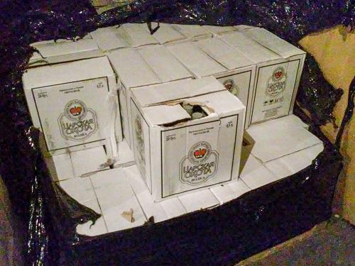 000 бутылок поддельного алкоголя изъято сосклада вЯрославле