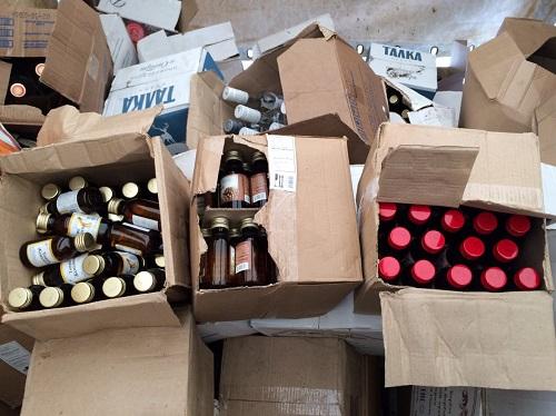 ВЯрославле изъято неменее 22 тыс. бутылок «левого» алкоголя