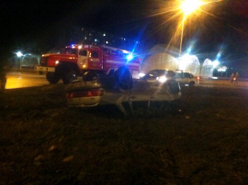 ВРыбинске «ВАЗ» с нетрезвым водителем устроил ДТП и пару раз перевернулся