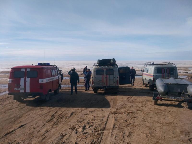 НаРыбинском водохранилище внештатный инспектор ГИМС спас 8 рыбаков