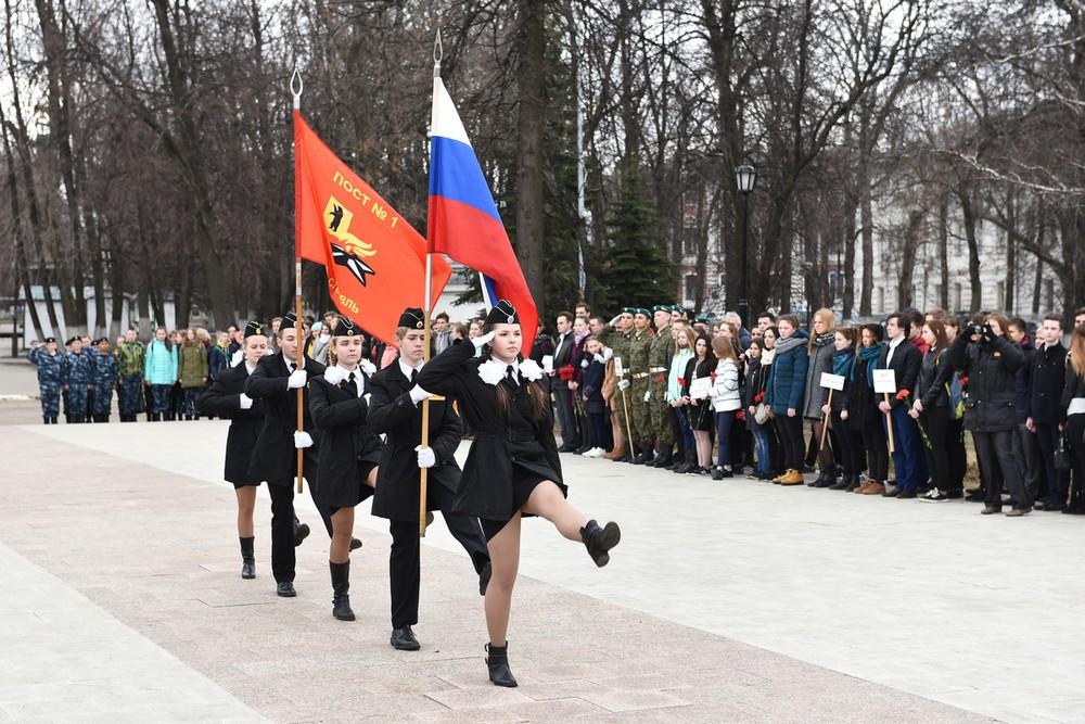ВЯрославле прошло праздничное открытие Вахты Памяти