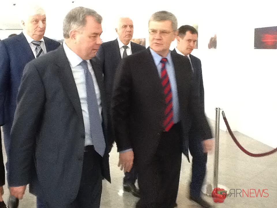 Генеральный прокурор  РФЮрий Чайка прибыл вЯрославль срабочим визитом