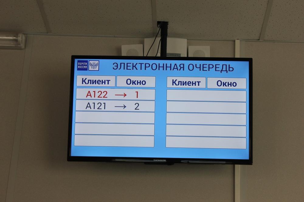 Впочтовых отделениях Ярославля заработала электронная очередь