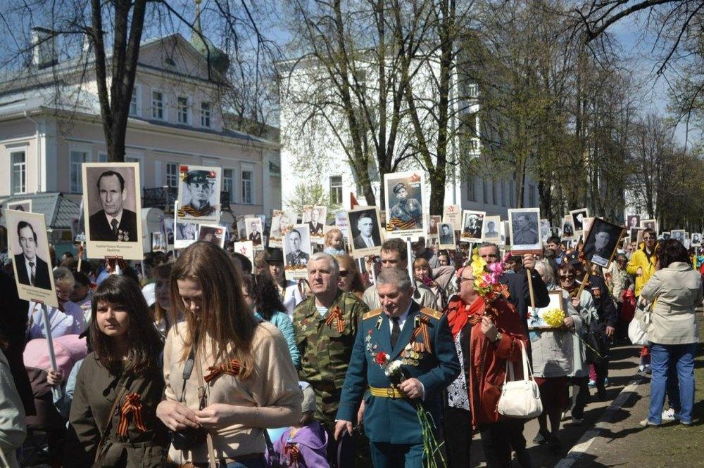 В Ярославле в день Победы вновь пройдет Бессмертный полк