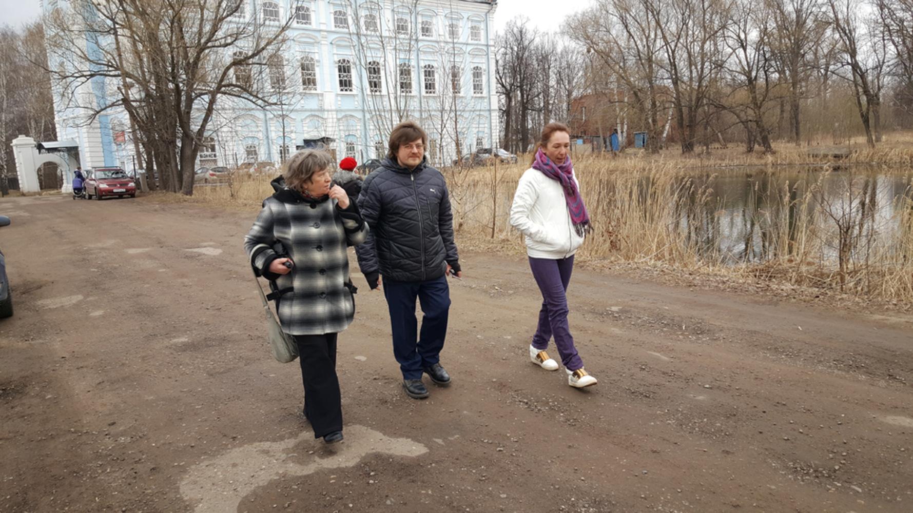 Анатолий Баташев посетил Петропавловский парк вЯрославле