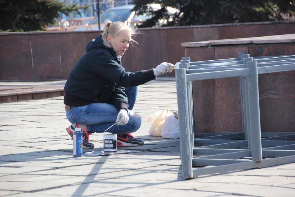 На дорогах Ярославля установят шестьсот флагов