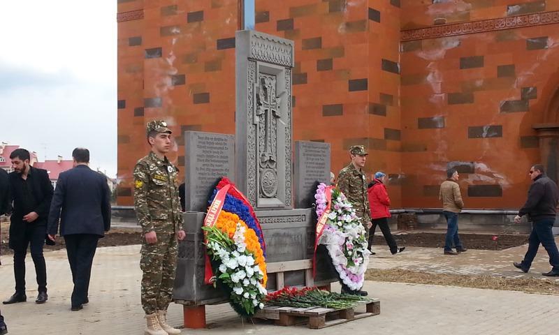 ВАбхазии почтили память жертв Геноцида армян