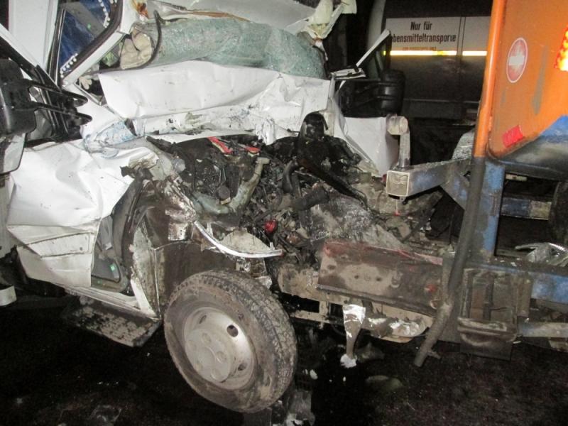 Натрассе М8 вПереславском районе Ярославской области столкнулись два фургона