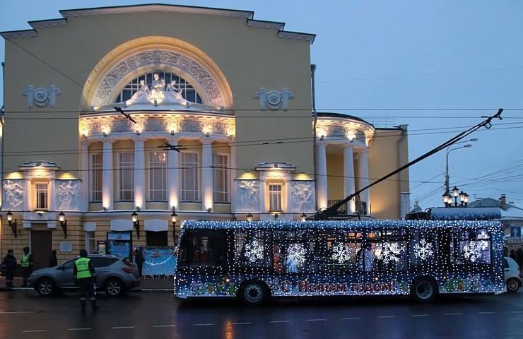 Сегодня ярославцы смогут получить билет на«волшебный троллейбус»