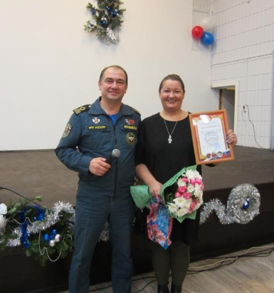 ВЯрославле наградили женщину, которая беременной спасла 2-х  тонущих детей