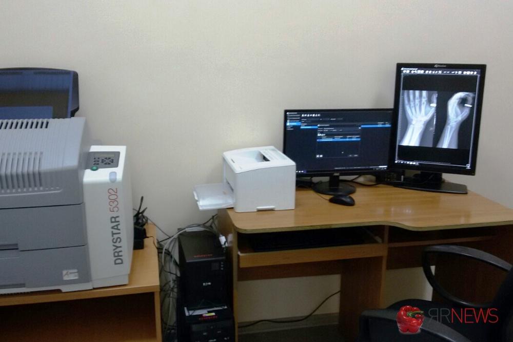 Вярославскую клинику приобрели рентген-аппарат засемь млн руб.